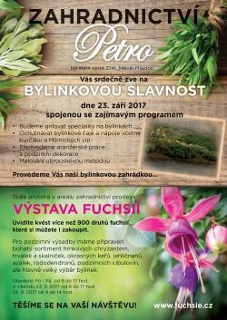 Pozvánka - Bylinková slavnost 23.9.2017