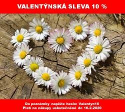 Valentýnská sleva 10 %
